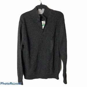 Nautica Button Down Knit Sweater NWT Large